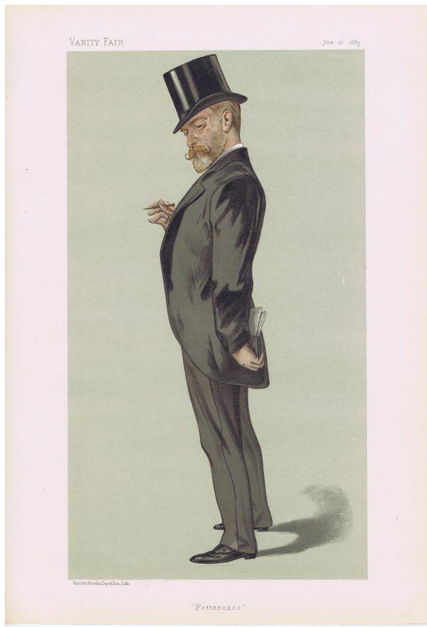 Robert William Duff Original Vanity Fair Print