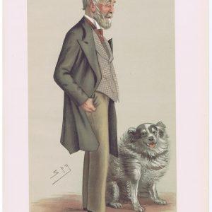 Alan Legge Gardner Original Vanity Fair Print