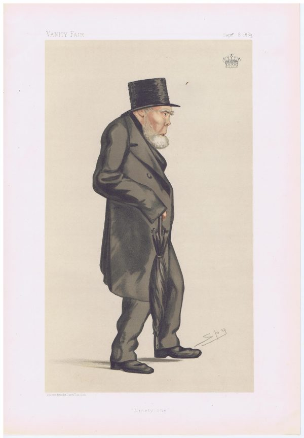 Stephen Moore Earl Of Mountcashell Vanity Fair Print