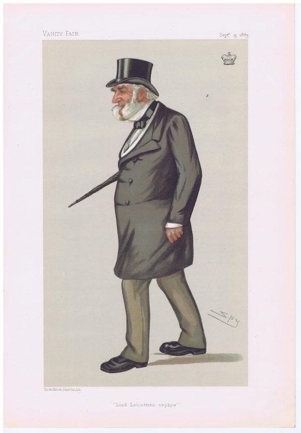 Lord Digby Original Vanity Fair Print