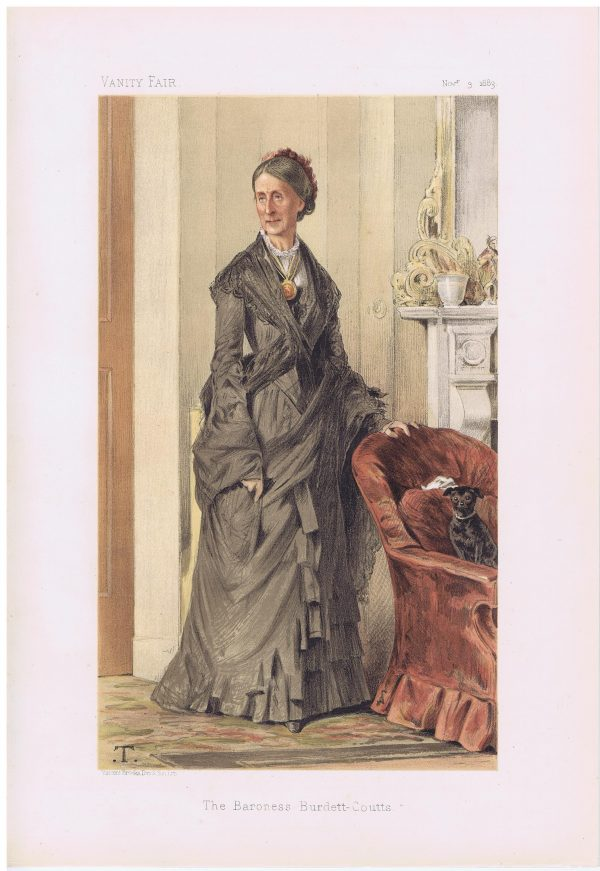 Baroness Burdett-Coutts Vanity Fair Print