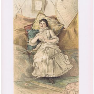 The Countess Of Dalhousie Vanity Fair Print
