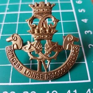 Princess Louise's Dragoon Guards Cap Badge