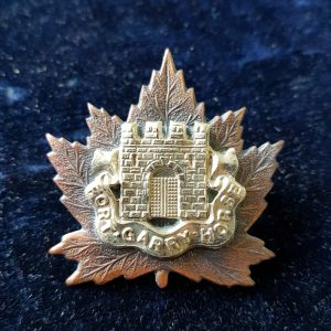 Fort Garry Horse Cap Badge Canadian Regiment