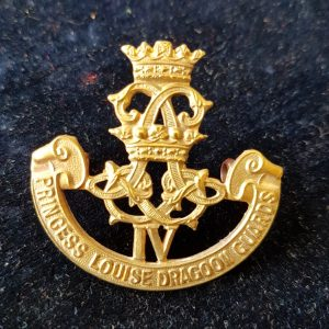 4th Princess Louise Dragoon Guards cap badge