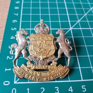 The KING'S OWN CALGARY REGIMENT Cap Badge