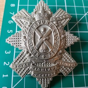 Canadian Black Watch Cap Badge