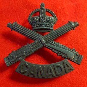Machine Gun Corps of CanadaCap Badge