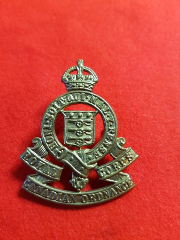 Royal Canadian Ordnance Corps Cap Badge