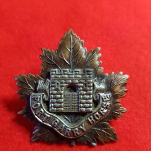 fort garry regiment cap badge
