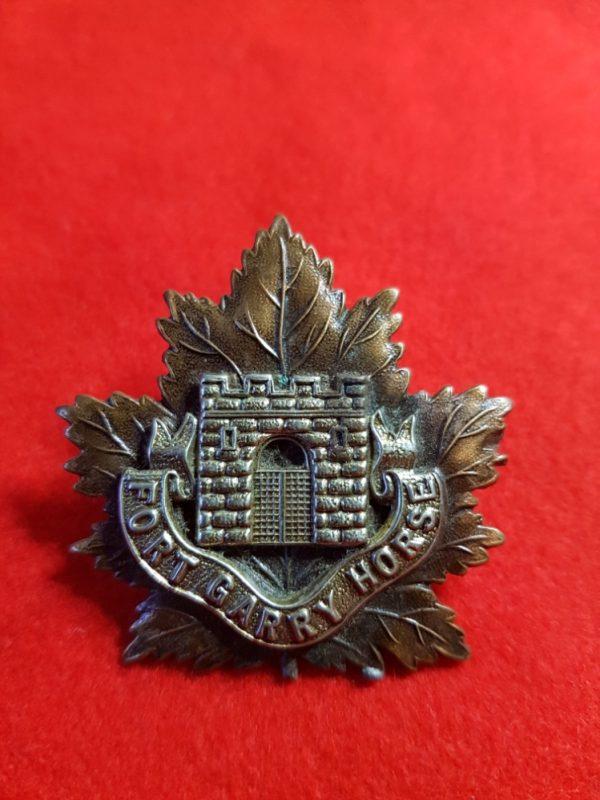 fort garry regiment cap badge