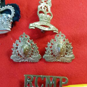 Royal Canadian Mounted Police Title & Badges