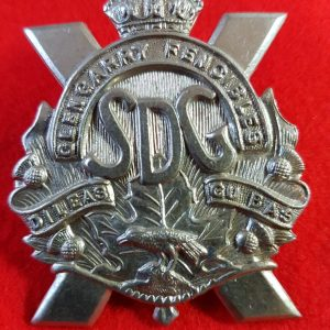 Canadian Glengarry Fencibles Cap Badge