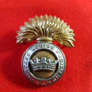 PRINCESS LOUISE FUSILIERS CAP BADGE