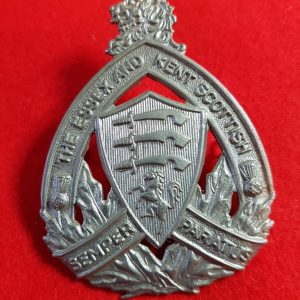 The Essex and Kent Scottish cap badge