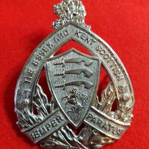 The Essex and Kent Scottish Regiment cap badge