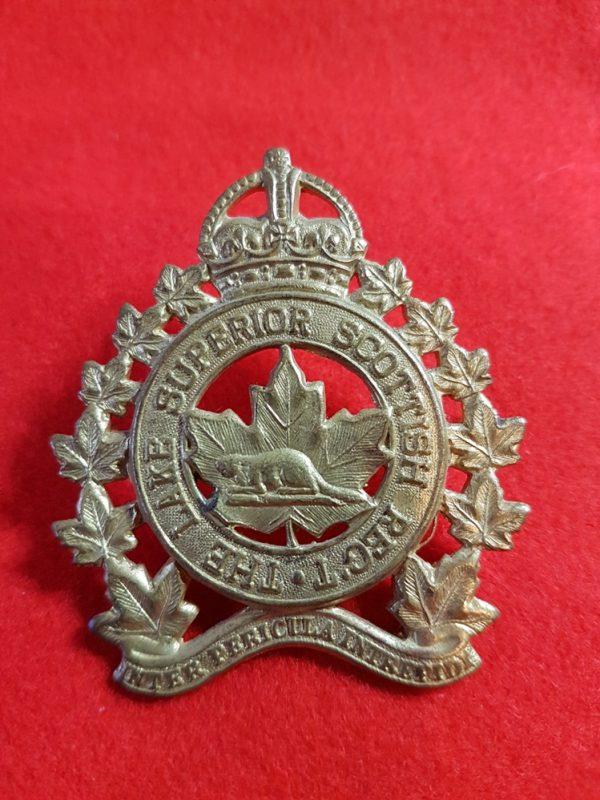 The Lake Superior Scottish Regiment Cap Badge