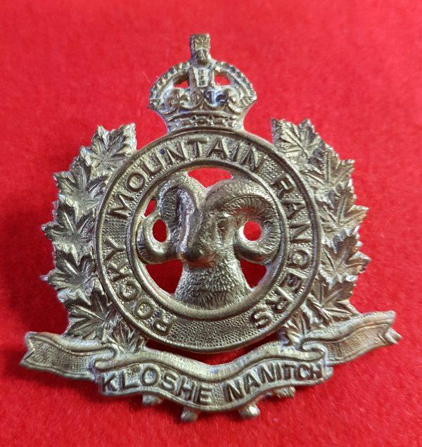 Rocky Mountain Rangers Cap Badge
