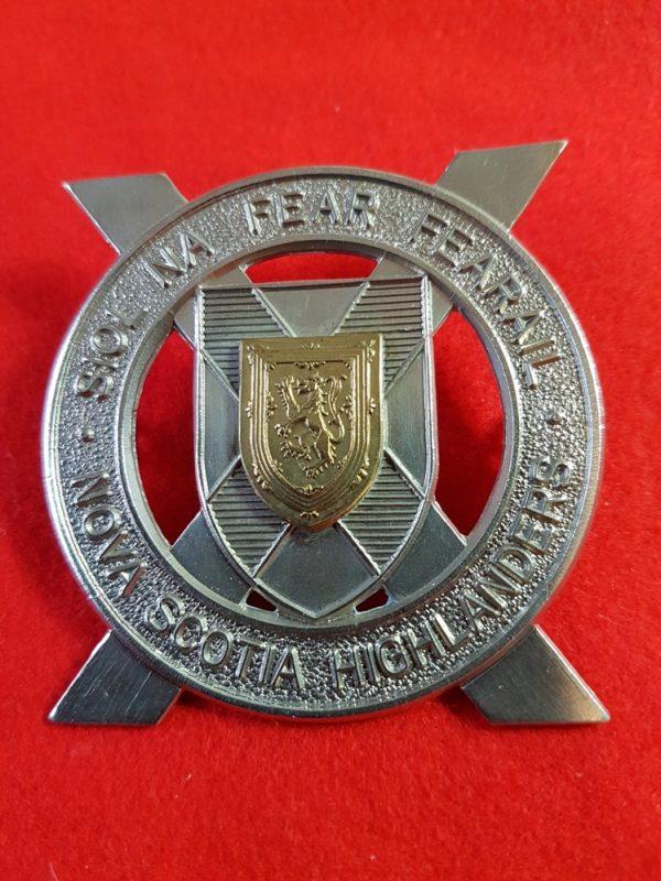 Nova Scotia Highlanders Cap Badge