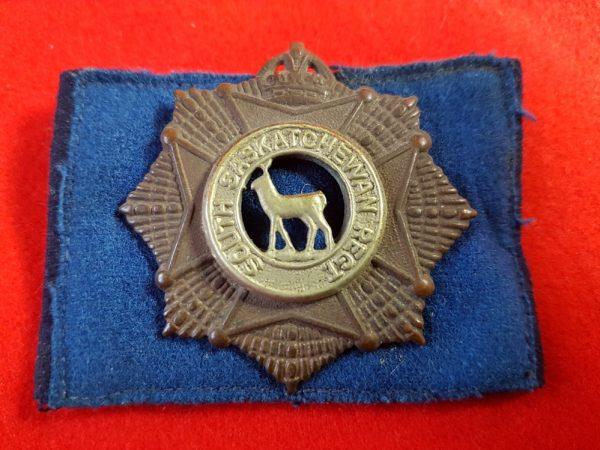 South Saskatchewan Regiment Cap Badge