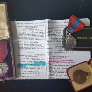 Rare Medal of the Order of the British Empire