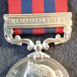 Border Regiment India General Service Medal 1854