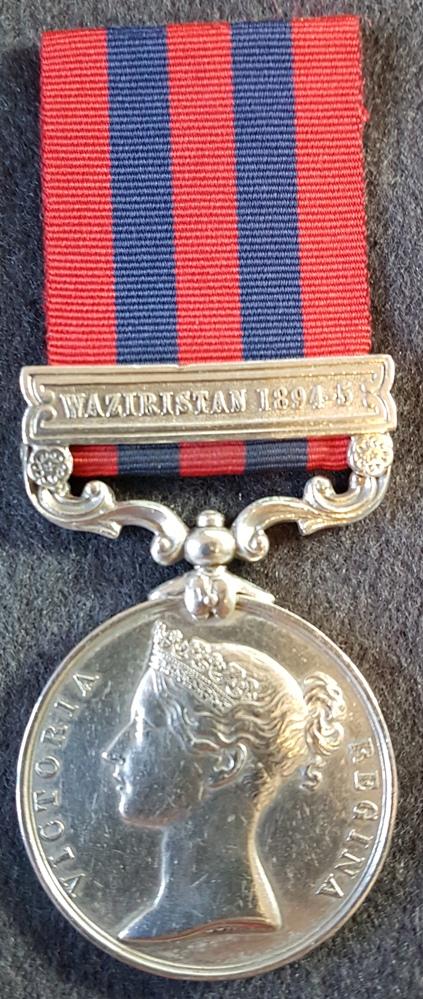 Border Regiment India General Service Medal 1854