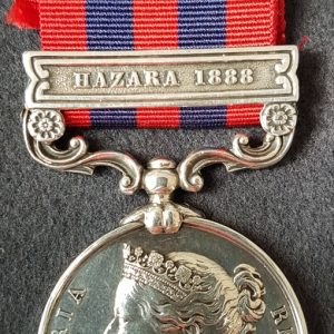 Royal Irish Regiment India General Service Medal