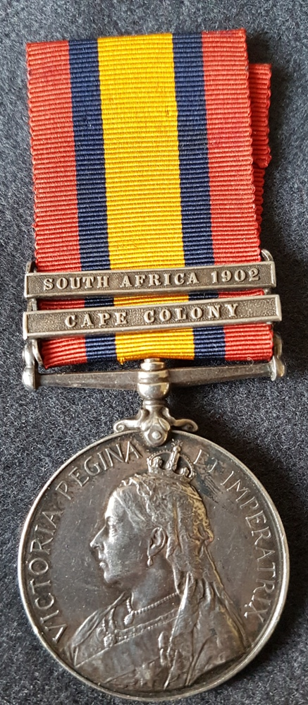 Queen's South Africa Medal Yorkshire Regiment