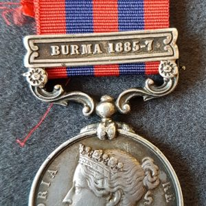 Hampshire Regiment India General Service Medal