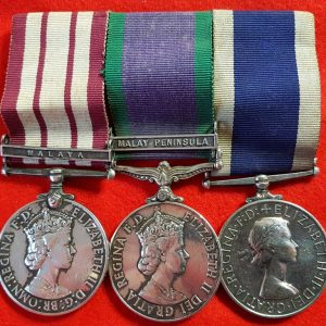 Fleet Air Arm HMS Condor Long Service Medal Group