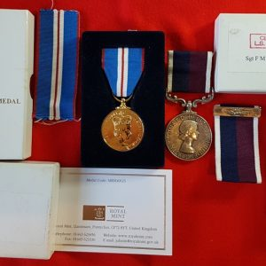 RAF Long Service and Good Conduct Medal and Bar Pair