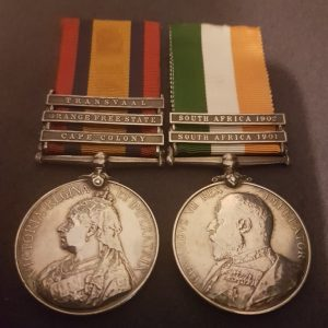 Cape Police Anglo Boer War Medal Pair