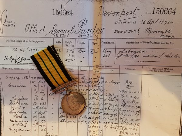 Africa General Service Medal 1902 Jubuland Clasp