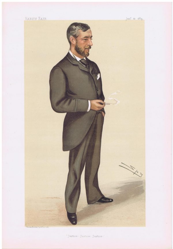 Edward Baldwin Malet Vanity Fair Print