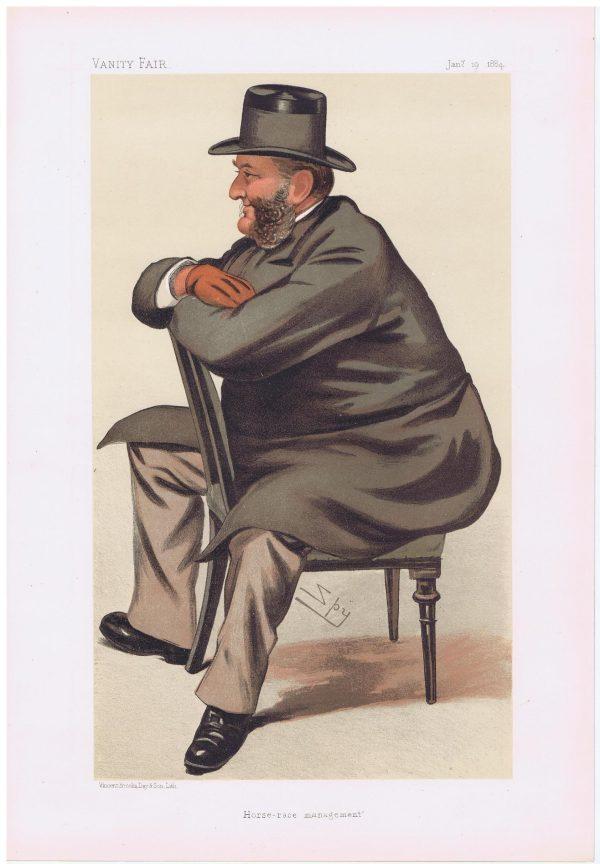Seymour Portman Horseracing Vanity Fair Print