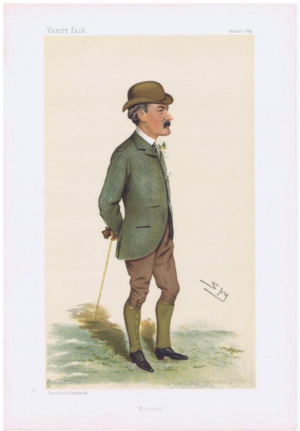 Lord Cardross Vanity Fair Print