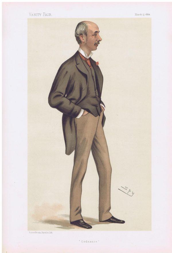Henry Robert Brand Vanity Fair Print 1884