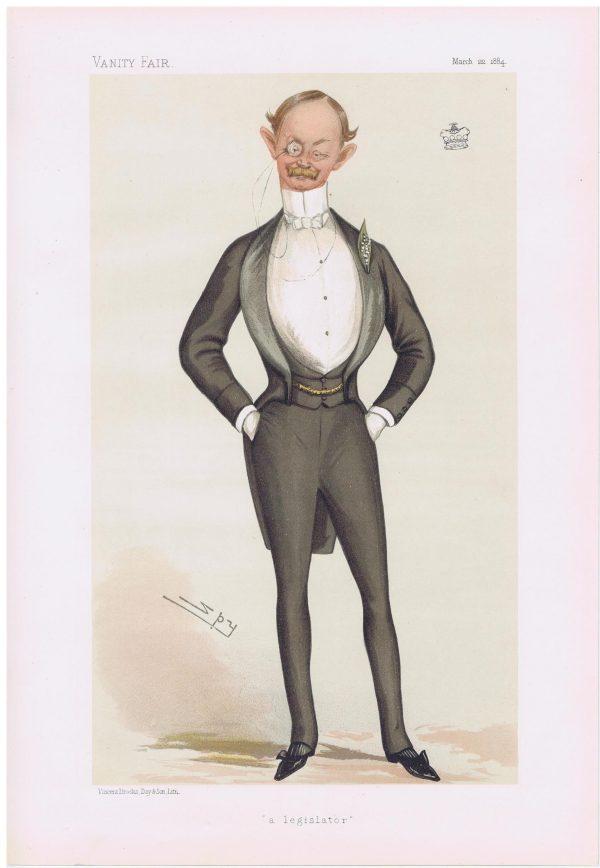 Lord Haldon Vanity Fair Print 1884