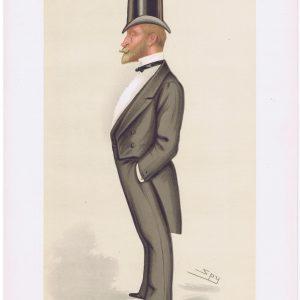 Frederick Stephen Archibald Hanbury-Tracy Vanity Fair Print 1884