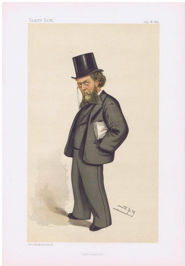 William Cornwallis Cartwright Vanity Fair Print