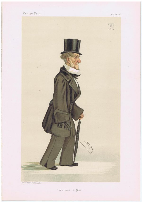 Sir Walter George Stirling Vanity Fair Print