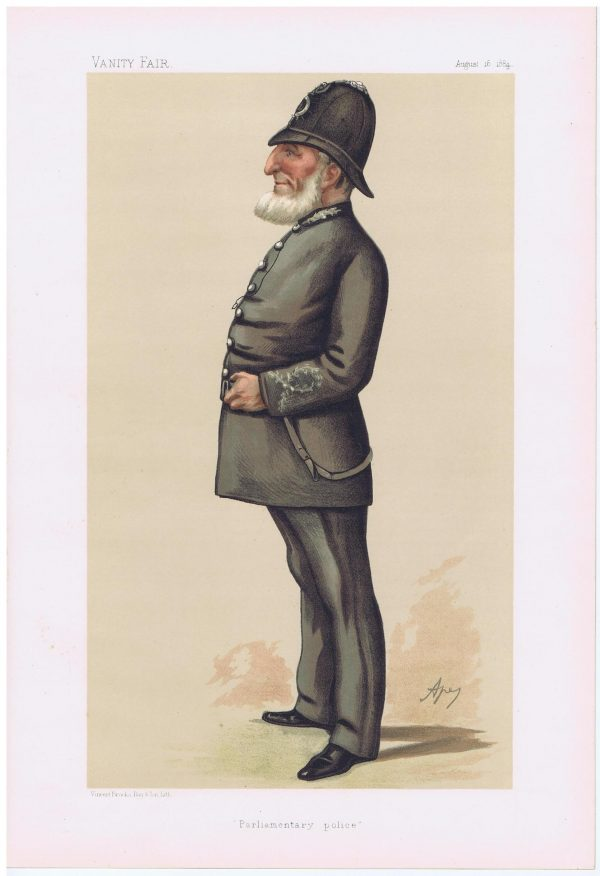 Police Inspector Denning Vanity Fair Print