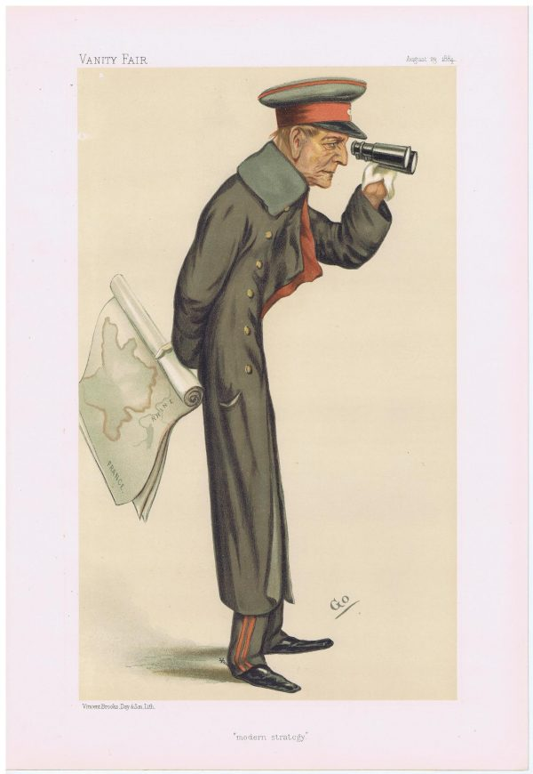 Field-Marshall Count Von Moltke Vanity Fair Print