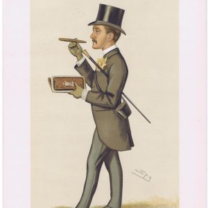 Sir John Christopher Willoughby Vanity Fair Print