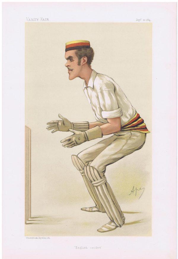 Alfred Lyttelton Vanity Fair Cricketer Print
