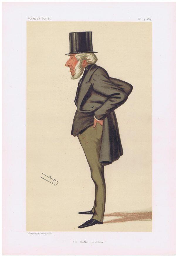John Jellibrand Hubbard Vanity Fair Print