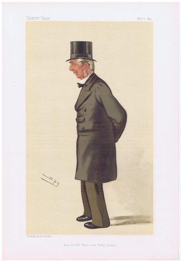 Frederick Winn Knight Vanity Fair Print