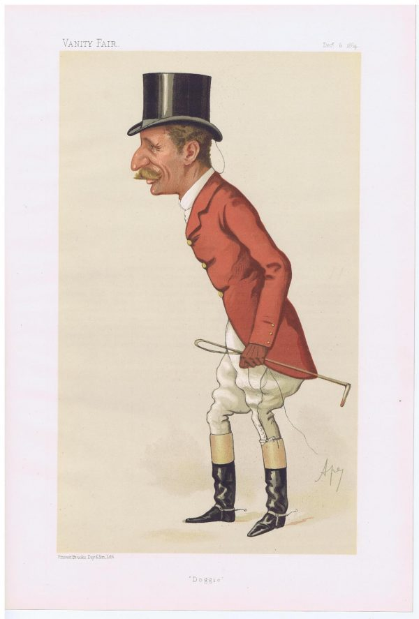 Captain Arthur Smith Vanity Fair Print