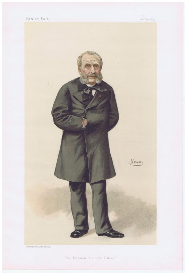 Monsieur De Giers Vanity Fair Print